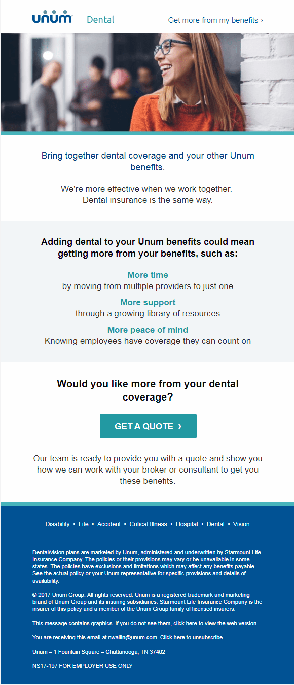 Dental Employer Email 3