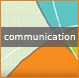 communication square icon graphic